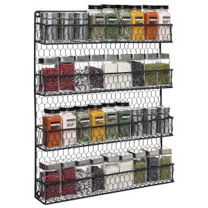 Black Country Spice Rack